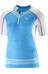 Salomon W's S-Lab Exo Zip Tee Blue Line / White